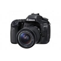 Зеркальный фотоаппарат Canon EOS 80D Kit 18-55 STM