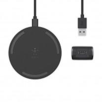 Беспроводное зарядное устройство Belkin Pad Wireless Charging Qi, 15W black (WIA002vfBK)
