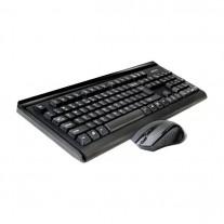USB Беспроводной комплект клавиатуры и мыши A4-Tech 6100N