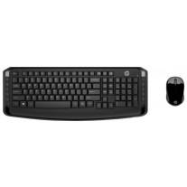 Клавиатура и мышь HP Wireless Keyboard and Mouse 300 Black USB (3ML04AA )