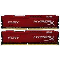 Оперативная память Kingston 32GB DDR4 3466Mhz HyperX Fury Red 2x16GB