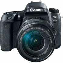 Зеркальный фотоаппарат Canon EOS 77D 18-135 мм