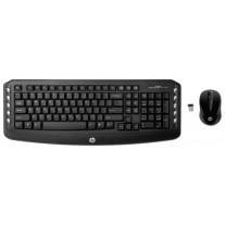Клавиатура и мышь HP Black USB (LV290AA)