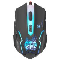 Мышь Defender Skull GM-180L Black