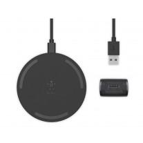 Беспроводное зарядное устройство Belkin Pad Wireless Charging Qi, 10W, black (WIA001VFBK)