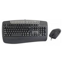 Проводной Комплект A4TECH KB-8620DB Black USB