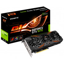 Видеокарту GIGABYTE GeForce GTX 1070 8Gb/256bit G1 Gaming