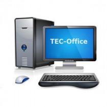 """Компьютер Tec Office №2 (Gigabyte E3800/DDR3 2GB/HDD 500GB/DVDRW/Case 450W/19"""" LED)"""