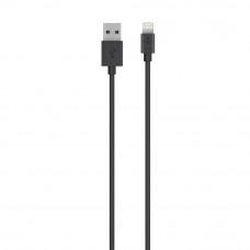 Кабель Belkin USB 2.0 Lightning, USB-A, 1,2m, Black (F8J023bt04-BLK)