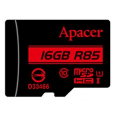 Карта памяти Apacer microSDHC Card Class 10 UHS-I U1 16GB