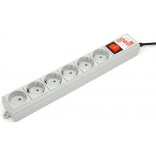 Сетевой фильтр Power Cube SPG(5+1)-B-15 5m Grey