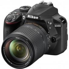 Зеркальный фотоаппарат Nikon D3400 Kit 18-140 VR
