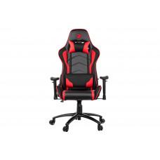 Игровое Компьютерное кресло 2E GC25 Black/Red (2E-GC25BLR)