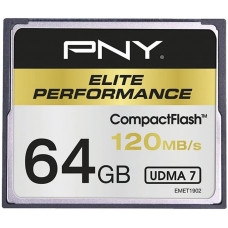 Карта памяти PNY Elite Performance CompactFlash 64GB 120Mb/s