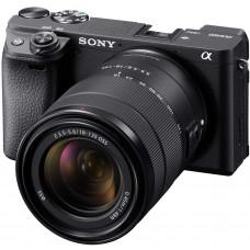 Фотоаппарат Sony Alpha ILCE-6400 Kit 18-135 мм OSS