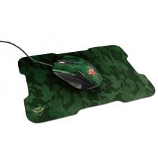 Игровая мышь Trust GXT 781 Rixa Camo + коврик
