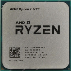 Процессор AMD Ryzen 7 1700 (AM4, L3 16384Kb)