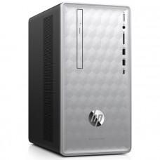 Компьютер HP Pavilion 590-p0010ur MT/ Core i5-8400/ 8GB/ 1TB + 16GB Optane/ GeForce GTX 1050Ti 4GB/ DVD-RW/ WiFi/ BT/ Win10/ Natural Silver (4GL62EA)
