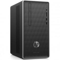 Компьютер HP Pavilion 590-a0001ur/ Pentium Silver J5005/ 4GB/ 1TB/ DVD-RW/ DOS/ Dark Ash (4GL96EA)