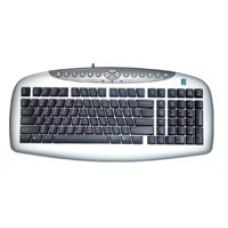 Клавиатура A4Tech KBS-21 Silver PS/2