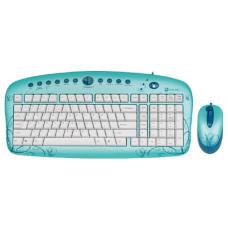 Проводной Комплект  G-CUBE GKSE-2728W USB