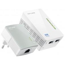 Комплект адаптеров Powerline с функцией усилителя беспроводного сигнала TP-LINK TL-WPA4220KIT