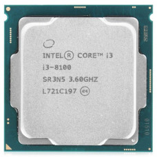 Intel Core i3-8100 Coffee Lake (3600MHz, LGA1151, L3 6144Kb)