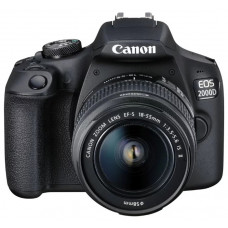 Зеркальный фотоаппарат Canon EOS 2000D Kit