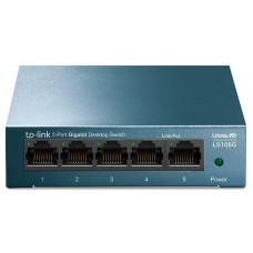 5-портовый 10/100/1000 Мбит/с настольный коммутатор TP-LINK LS105G