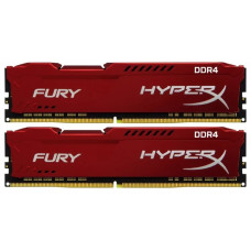 Оперативная память Kingston 32GB DDR4 3466Mhz HyperX Fury Red 2x16GB