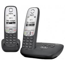 Радиотелефон Gigaset A415A DUO RUS BLACK (L36852-H2525-S301)