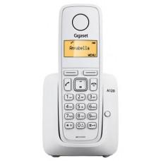 Радиотелефон Gigaset A120 RUS WHITE (S30852-H2401-S302)