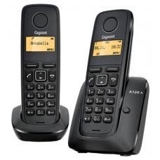 Радиотелефон Gigaset A120 DUO RUS BLACK (L36852-H2401-S301)