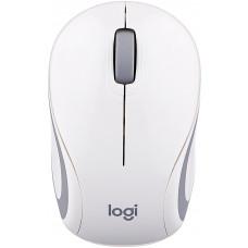 Беспроводная мышь Logitech Wireless Ultra Portable M187 White