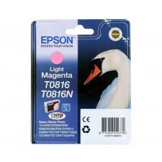Картридж Epson T0816 LIGHT MAGENTA (C13T11164A10)