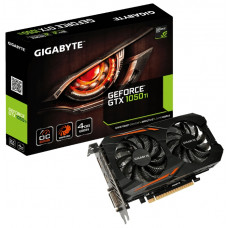 Видеокарта Gigabyte GeForce GTX1050Ti OC 4GB 128bits GDDR5 GV-N105TOC-4GD