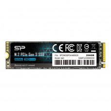 Твердотельный накопитель Silicon Power M.2 256GB NVME (P34A60)