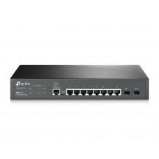 JetStream 8-портовый гигабитный управляемый коммутатор 2 уровня с 2 SFP-слотами TP-Link T2500G-10TS (TL-SG3210)