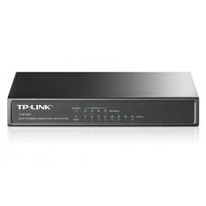 8-портовый 10/100 Мбит/с настольный коммутатор с 4 портами PoE  TP-LINK TL-SF1008P