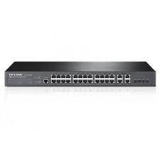 JetStream управляемый коммутатор 2 уровня на 24 порта 10/100 Мбит/с и 4 гигабитных порта TP-Link TL-SL5428E