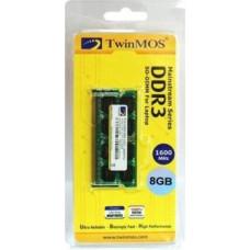 Оперативная память Twinmos 8GB DDR3 SODIM 1600Mhz для ноутбуков