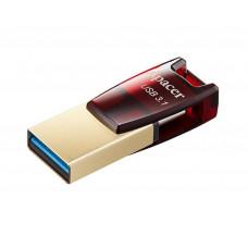 USB-флешка Apacer AH180 64GB USB 3.1/Type-C Red