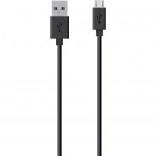 Кабель Belkin USB 2.0 Mixit Micro USB Charge/Sync Cable 2m, black (F2CU012bt2MBLKS)