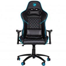 Игровое Компьютерное кресло 2E GC23 Black/Blue (2E-GC23BLB)