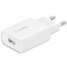 Сетевое ЗУ Belkin SINGLE USB-A WALL CHARGER, 18W QC3, WHT(WCA001VFWH)